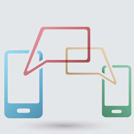 icono comunicacion: icono de la comunicaci�n m�vil