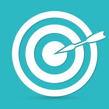 dart: dart icon Illustration