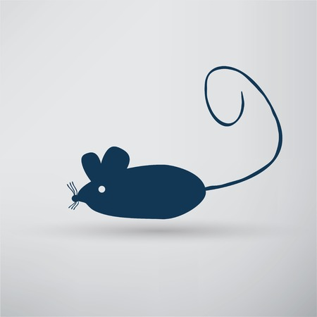 varmint: Mouse icon Illustration