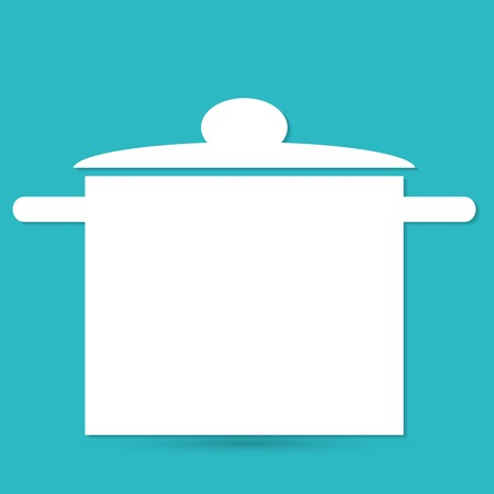 hat chef and kitchen Vector