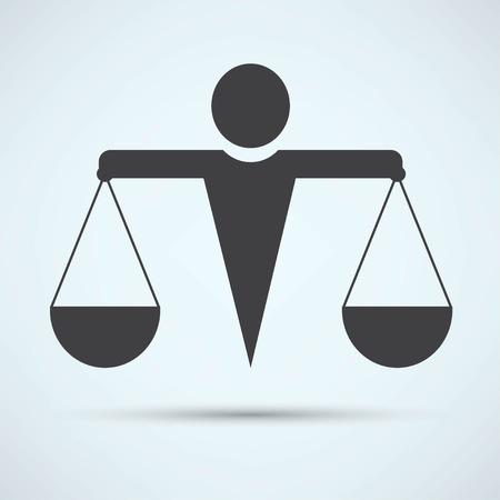 equilibrium: Scale icon