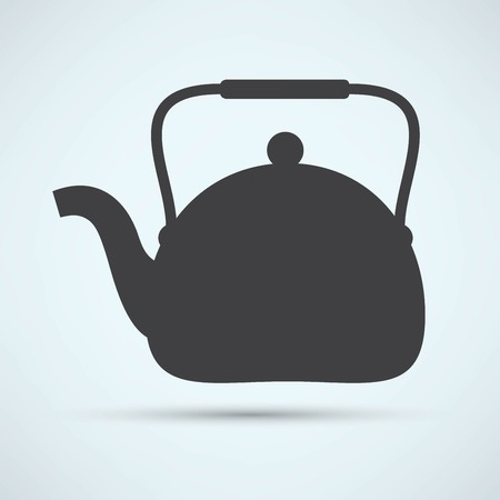 electric tea kettle: Tea maker Kitchen Icon