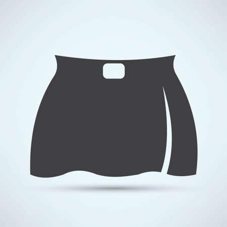 skirt: skirt icon Illustration
