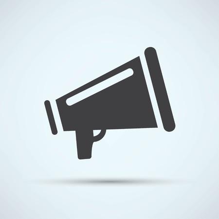 megafono: Icono del megáfono