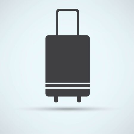 trolley case: suitcase icon