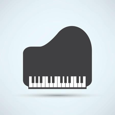 a grand piano: Piano Icon