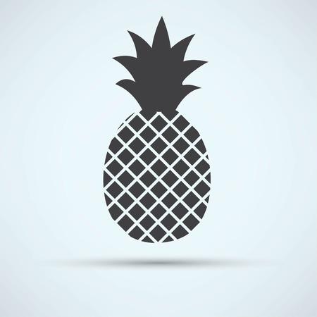 pineapple icon Vettoriali