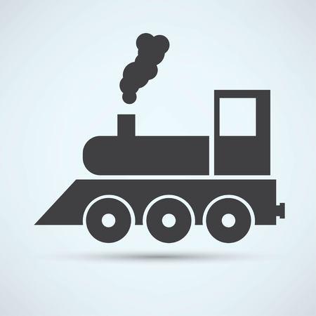 Train Icon Векторная Иллюстрация