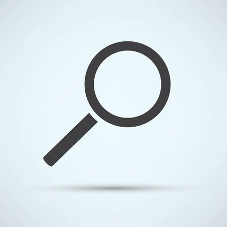 Magnifying glass  イラスト・ベクター素材