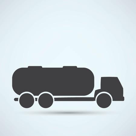 Camion citerne Banque d'images - 40991092