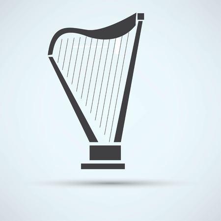 lyra: harp icon