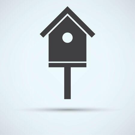 nido de pajaros: pájaro-icono de la casa