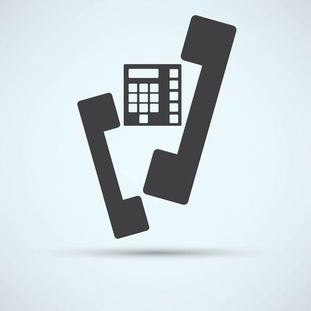 mobil: phone icon Illustration