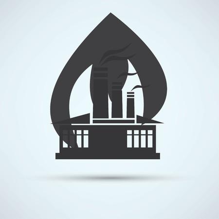 incident: fire warning Illustration