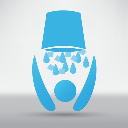 Ice Bucket Challenge concept