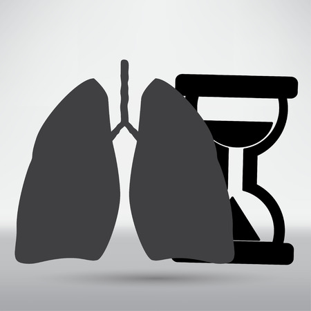 poumon humain: Ic�ne du poumon humain