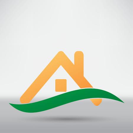 ikony: ikona dom Ilustracja