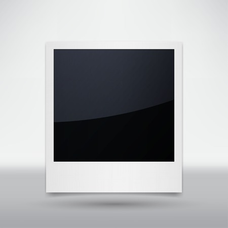 photo album: Isolated Photo Frames on White Background