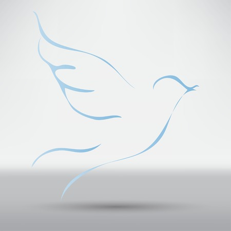 Taube des Friedens