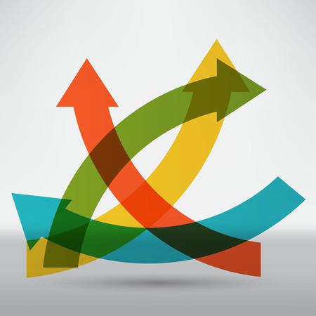 onwards: Abstract arrow icon