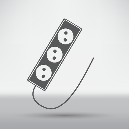 electric outlet: Electric outlet icon