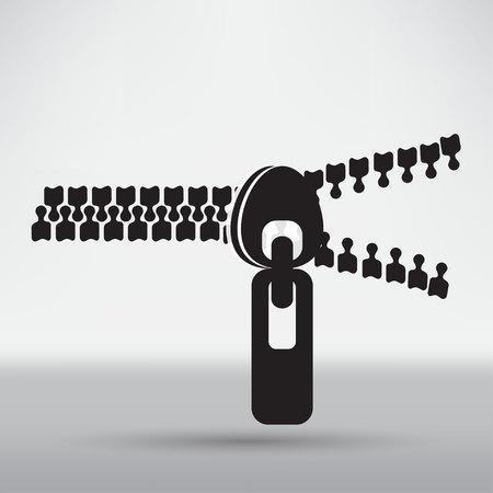 closure: zippers icon