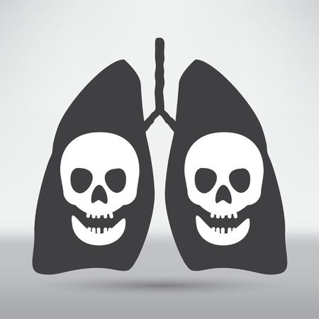 bronchiole: Human lung icon