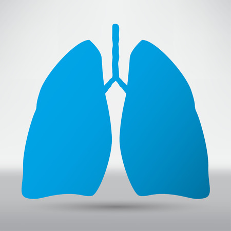 respire: Human lung icon