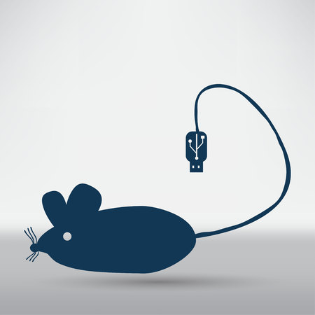 varmint: Mouse icon Illustration