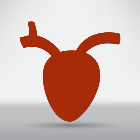 cardiogram: Cardiogram Icon Illustration