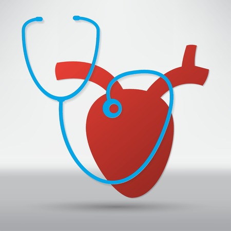 oscillate: Cardiogram Icon Illustration