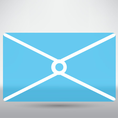 envelope icon: postal envelope icon Illustration