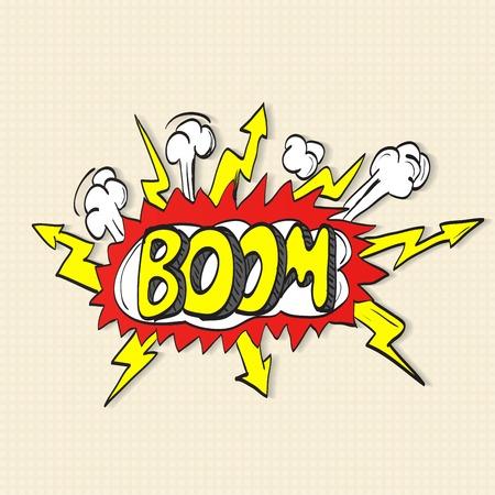 nuke: Comic book explosion