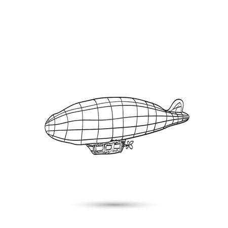 dirigible: Dirigible Illustration