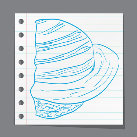 and saturn: Saturn star sketch style Illustration
