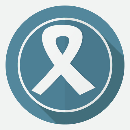 social awareness symbol: shadow ribbon icon