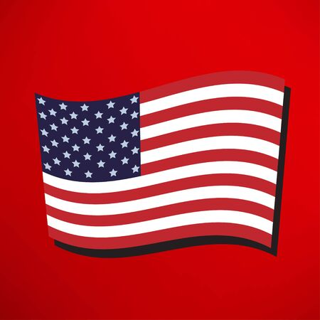 america flag: America flag icon