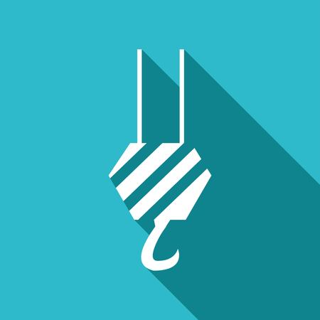power symbol: crane icon Illustration
