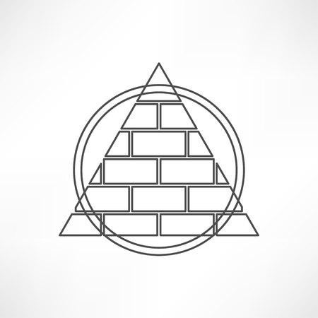 의식: Pyramid 일러스트