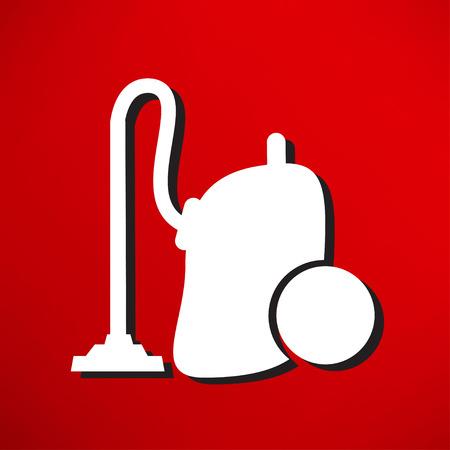 subject matter: vacuum cleaner icon