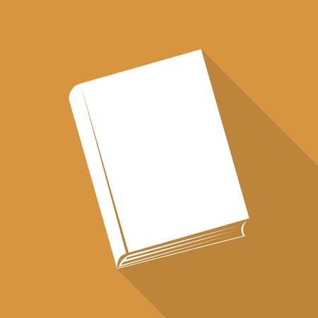 astute: Book icon with a long shadow