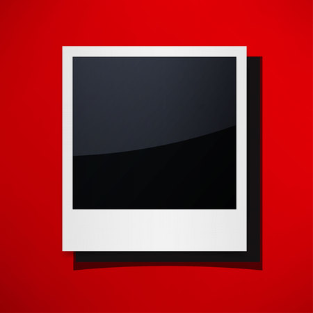 retrospect: Isolated Photo Frames Illustration