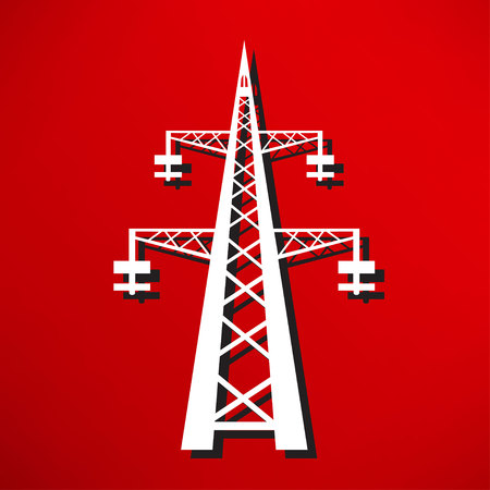 transmission: Power transmission tower