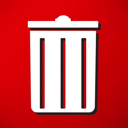 landfill: trash can icon