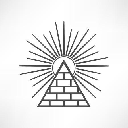 Pyramid 矢量图像