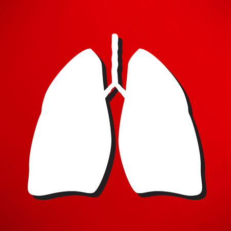 clinical laboratory: Lungs - vector illustration
