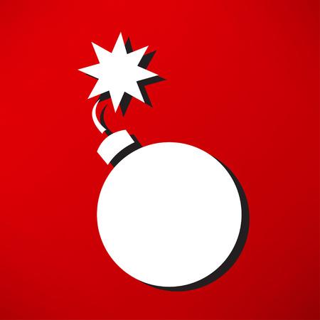 sabotage: Bomb icon Illustration