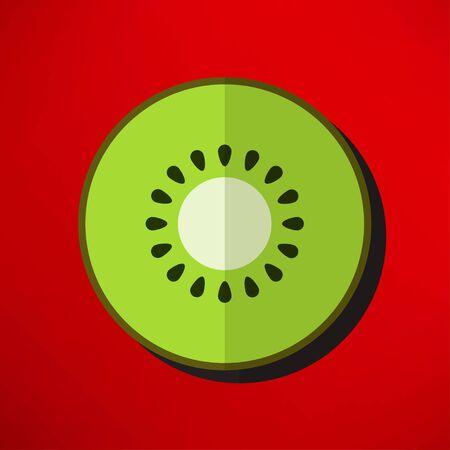 fruitage: kiwi icon Illustration