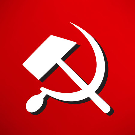 socialist: sicklsickle hammer icone