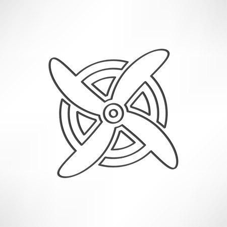 airplane symbol Çizim